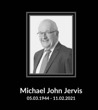 Michael John Jervis 05.03.1944 - 11.02