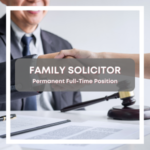 Family Solicitor Vacancy