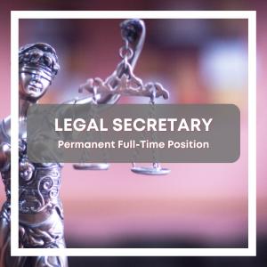 Legal Secretary Job